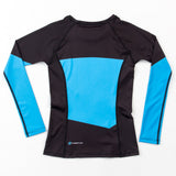 Fusion Fight Gear Star Trek The Next Generation Ladies Blue Rash Guard Rashguard Canada