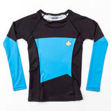 Fusion Fight Gear Star Trek The Next Generation Ladies Blue Rash Guard Rashguard Edmonton