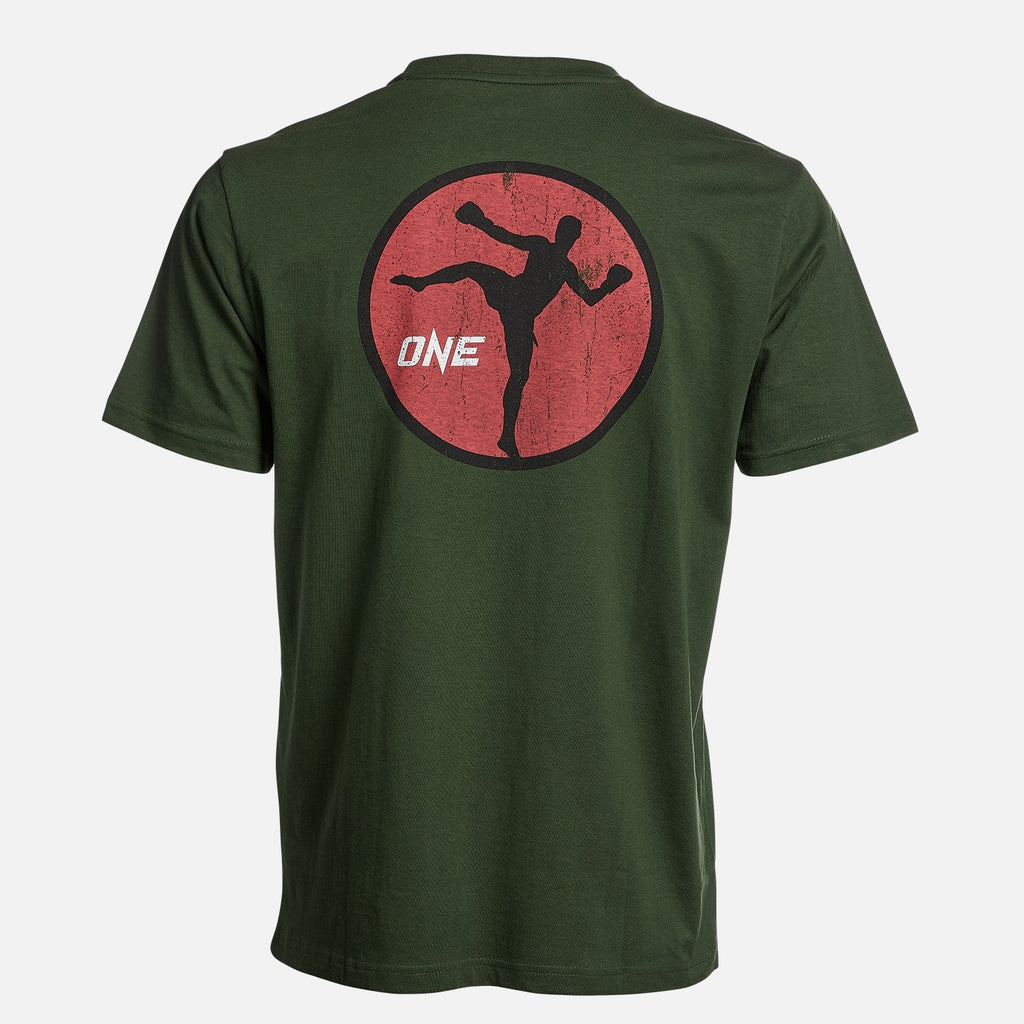 OneFC Kickboxing Graphic Green T-Shirt