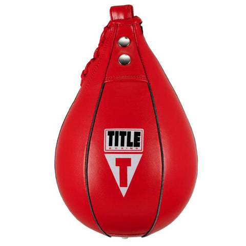 Title Boxing Leather Super Fast Speed Bag Various Sizes
