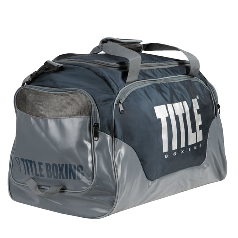 Title Boxing Valiant Super Equipment Duffel Gym Bag Navy Blue