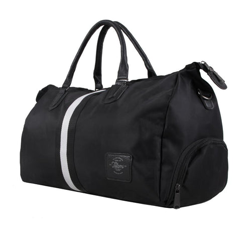 Tatami Fightwear Black Stripe Duffel Bag edmonton
