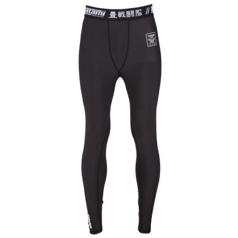 Tatami Fightwear Kids Jiu Jitsu Edmonton Nova Black Compression Pants Spats