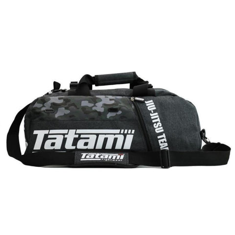 Tatami Fightwear Jiu Jitsu Duffle Gym Bag Convertible Backpack Grey/Camo Canada