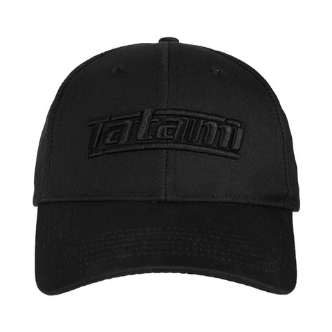 Tatami Fightwear Black Jiu Jitsu Curved Baseball Cap Hat