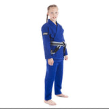 Tatami Fightwear Childrens/Kids Jiu Jitsu Gi Edmonton Blue FREE White Belt