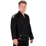 Tatami Edmonton Fightwear Mens Nova Absolute Gi Black BJJ FREE White Belt