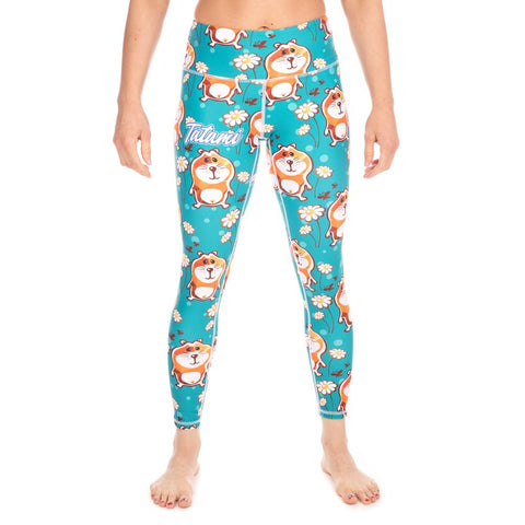 Tatami Fightwear Ladies wear Canada Hamster Leggings Spats Compression Pants Tights