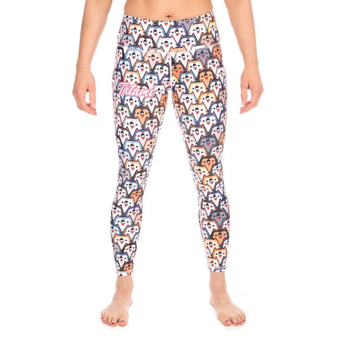 Tatami Canada Fightwear Ladies Husky Dog Leggings Spats Compression Pants Tights