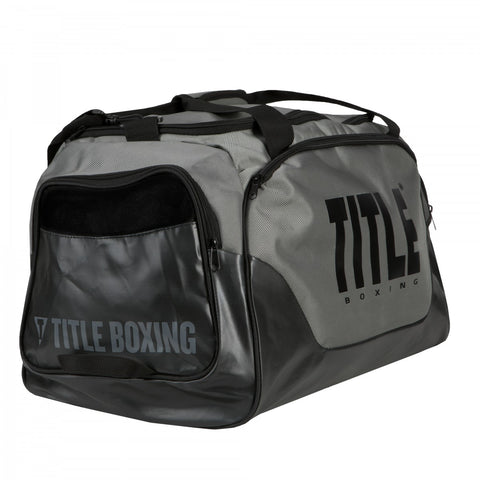 Title Boxing Valiant Super Equipment Duffel Gym Bag Grey