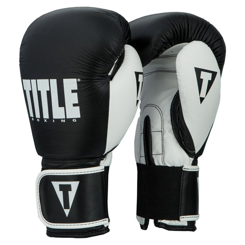 Title Boxing Gear Edmonton Dynamic Strike Gloves Black/White