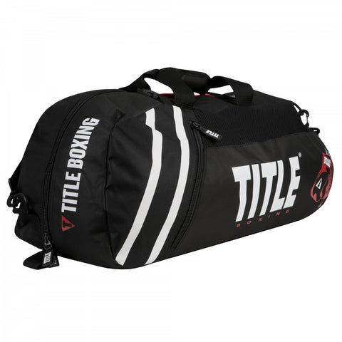 Title Boxing Champion 2.0 Sports Convertible Duffle Gym Bag/Backpack