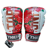 Top King Boxing Gloves Canada Massacre Roses White Gloves