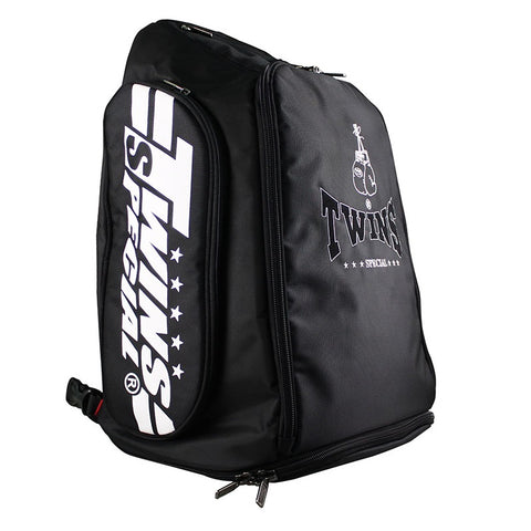 Twins Special BAG5 Backpack Canada Convertible Duffel Gym Bag Black
