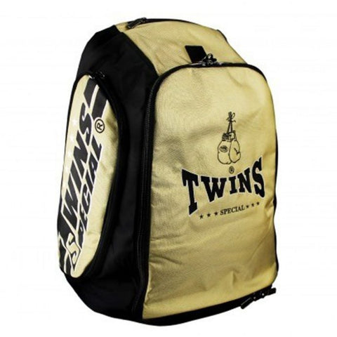 Twins Special Backpack Canada Convertible Duffel Gym Bag Gold