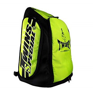 Twins Special BAG5 Backpack Convertible Duffel Gym Bag Lime Green