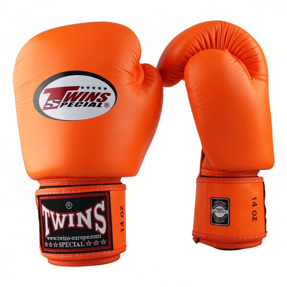 Twins Special BGVL3 Muay Thai  Orange Boxing Gloves Edmonton