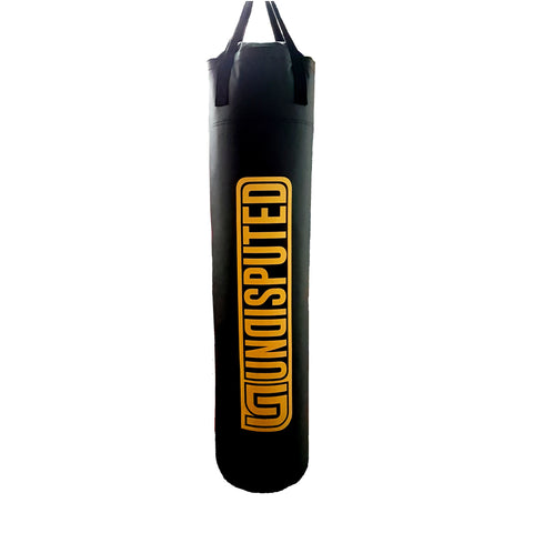 UnDisputed 6ft Muay Thai Boxing Banana 145lbs FILLED Punching Heavy Bag