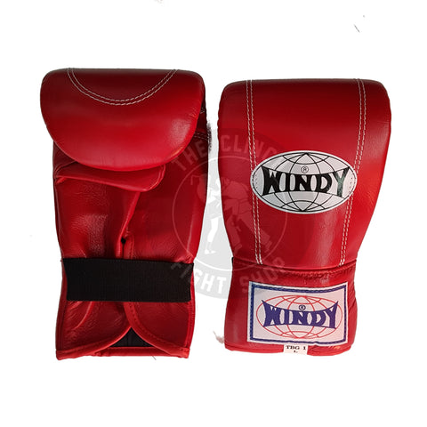 Windy Muay Thai Gear Canada Style Bag Boxing Gloves TBG-1 Red