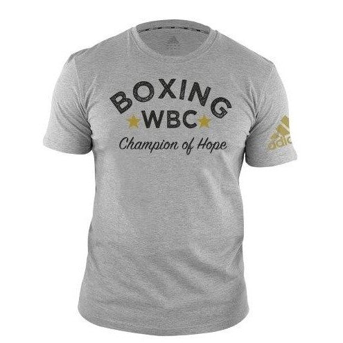 Adidas Boxing WBC Champions of Hope T-Shirt Grey