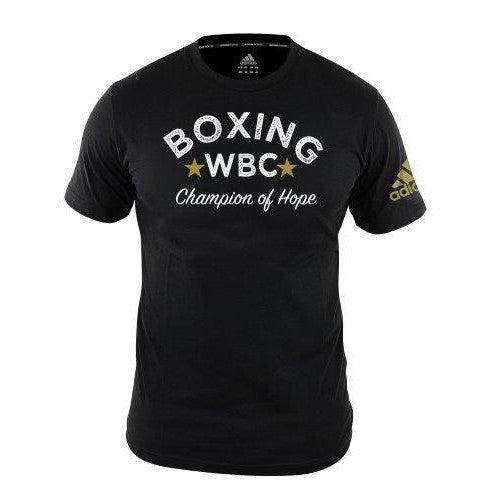 Adidas Boxing WBC Champions of Hope T-Shirt Black (XXL only left)