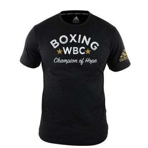 Adidas Boxing WBC Champions of Hope T-Shirt Black