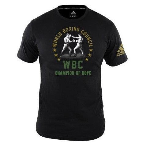 Adidas Boxing WBC Fighters T-Shirt Black (Small only left)