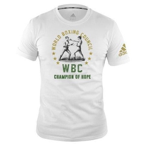 Adidas Boxing WBC Fighters T-Shirt White (only XXL left)