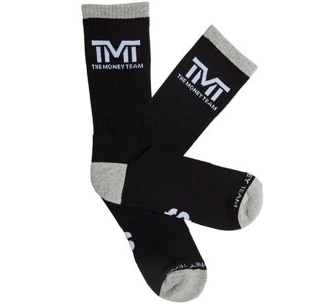 TMT The Money Team Untouchable Socks Black/Grey