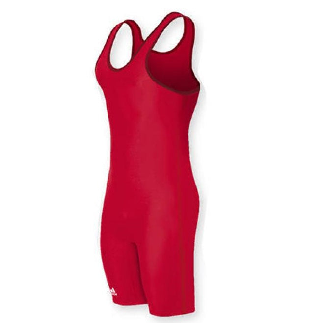 Adidas Wrestling AS101s Red Singlet