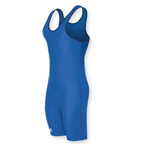Adidas Wrestling AS101s Blue Singlet