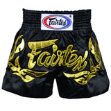 Fairtex Muay Thai Shorts Black/Gold