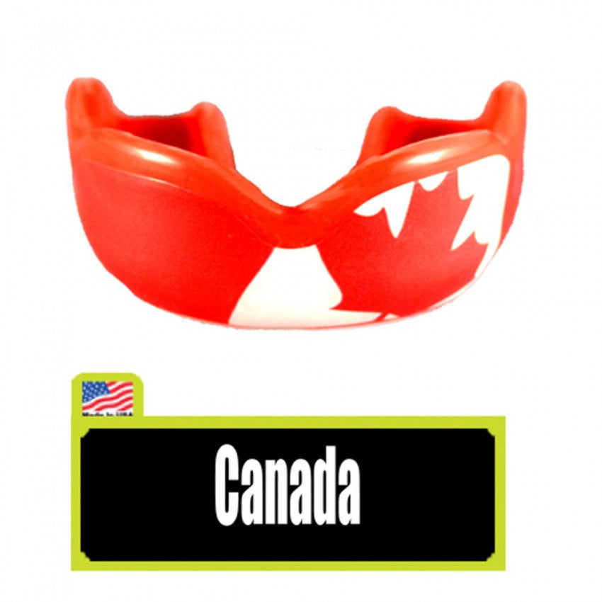 Damage Control High Impact Mouthguard Canada Flag