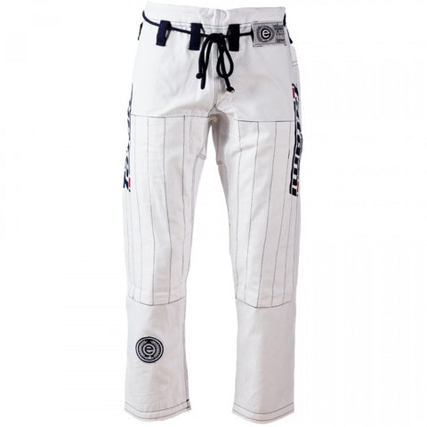 Tatami Fightwear Mens Estilo BJJ Jiu Jitsu Gi Pants White (A4 only left)