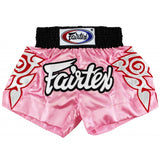 Fairtex Modern Thai Art Pink Muay Thai Shorts BS0636