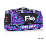 Fairtex Canada BAG2 Gym Duffle Bag - Camo Purple