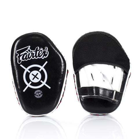 Fairtex FMV11 Air Aero Focus Mitts Punch Pads Black/White