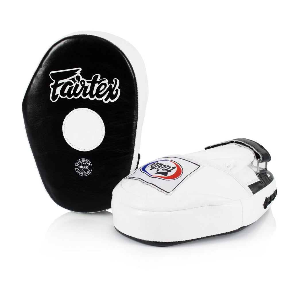 Fairtex Canada FMV10 Classic Focus Mitts Punch Pads Black/White