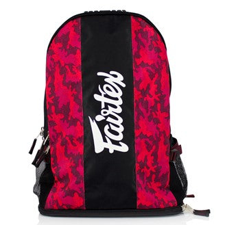Fairtex Edmonton BAG4 Backpack Gym Bag Canada- Camo Red