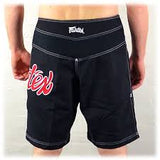 Fairtex MMA Fight Shorts AB1 Black/Red Edmonton