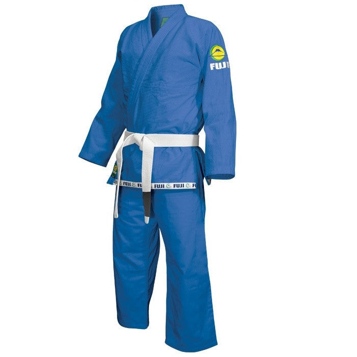 Fuji Sports Kids Childrens Youth BJJ Jiu Jitsu Gi Blue