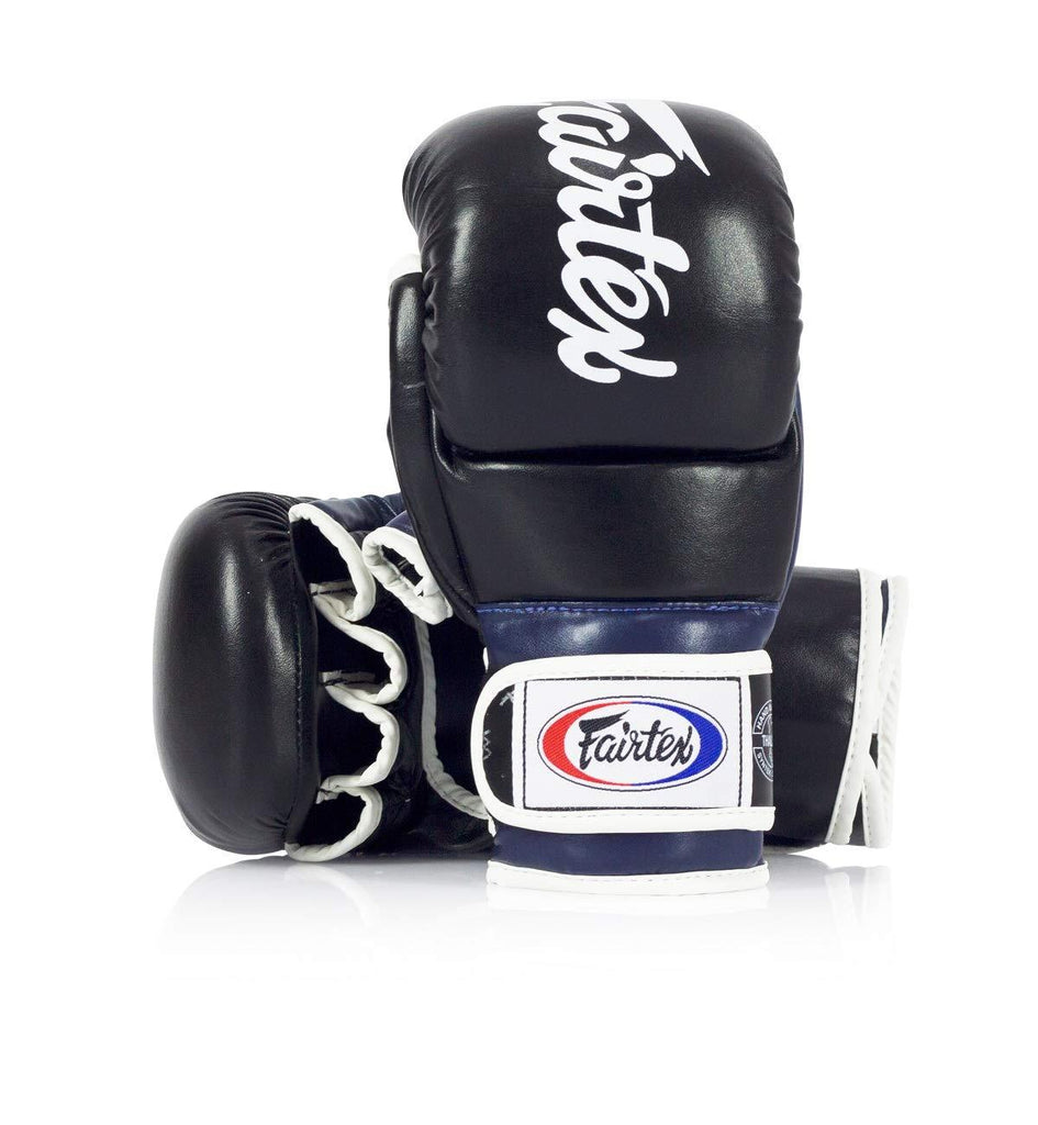Fairtex FGV18 MMA Super Sparring Hybrid Gloves Canada Blue