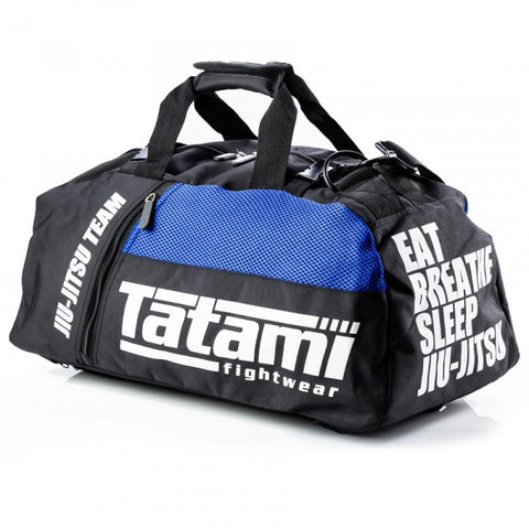 Tatami Fightwear Jiu Jitsu Duffle Gym Bag Convertible Backpack