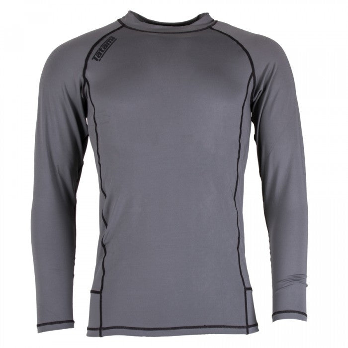 Tatami Fightwear Nova Grey Compression Rash Guard Rashguard