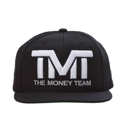 TMT The Money Team Courtside Black/White Snapback Hat Cap