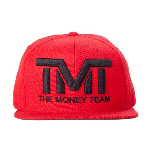 TMT The Money Team Courtside Red/Black Snapback Hat Cap