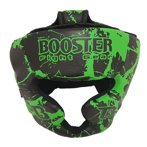 Booster Fight Gear Kids Youth Headgear Guard Marble Green