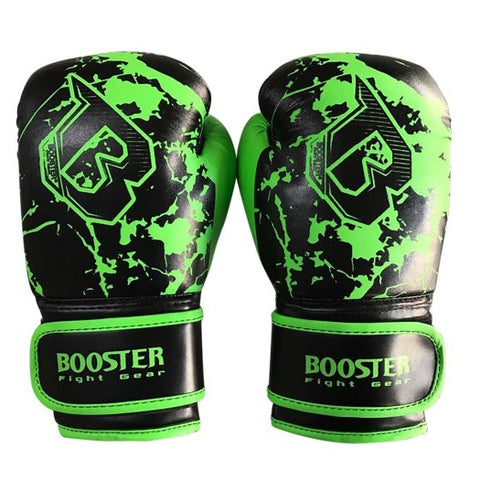 Booster Fight Gear Marble Green Kids Youth Boxing Gloves