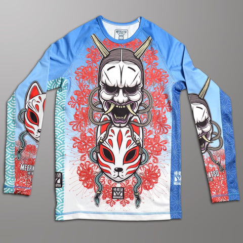 Meerkatsu Ladies Demon Mask Rashguard Rash Guard canada