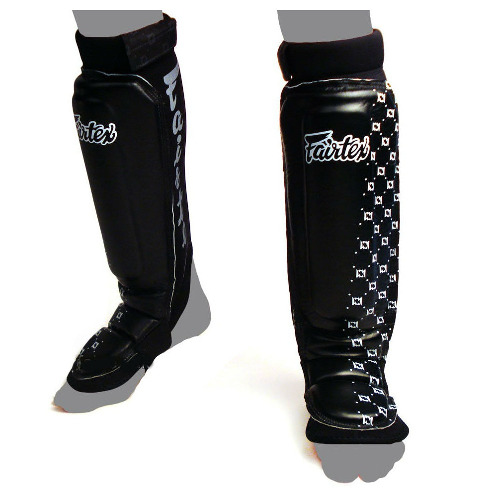 Fairtex SP6 Neoprene Double Padded MMA Shin Guards Shinguards